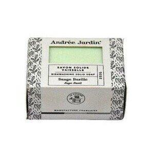 Geschirrspülseife salbei/Basilikum 250gr Andrée Jardin