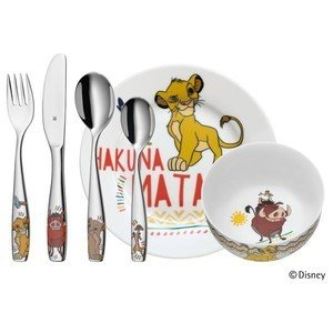 Kinder-Set 6-tlg Lion King WMF