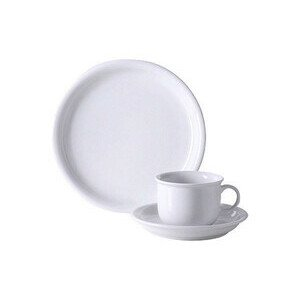 Kaffeeset 18 teilig Trend Weiß Thomas