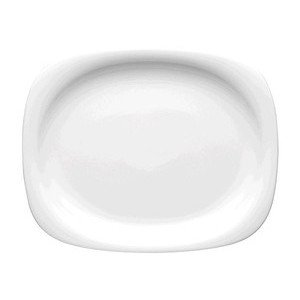 "Platte 38 cm x 30,5 cm ""Suomi Weiß"" Rosenthal"