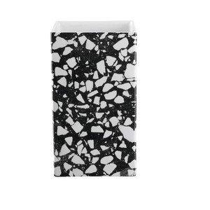 Vase 11,5x11,5cm H.12cm Quadro Terrazzo ASA