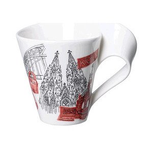 Becher m. Henkel 0,3 l Köln Cities of the World Mug Villeroy & Boch