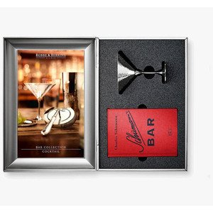 Geschenkset Cocktail 3 teilig Martele 90 g versilbert Robbe & Berking