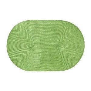 Tischset oval 45x31 cm hellgrün Continenta
