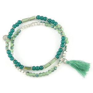Armband S/P grün Lizas