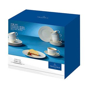 Kaffee Set 18 tlg. For Me -- Villeroy & Boch