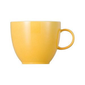 Kaffeeobertasse 200 ml rund Sunny Day Yellow yellow Thomas