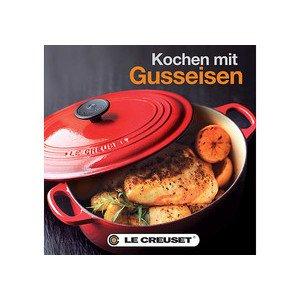 Buch: Kochen mit Gusseisen Le Creuset