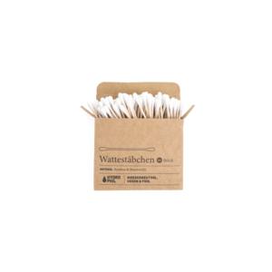 Wattestäbchen aus Bambus und Baumwolle 100er Pack Hydrophil