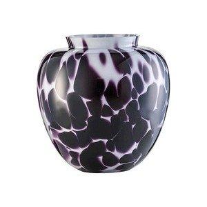 Vase H. 26,8 cm weiss/schwarz Splash ZWIESEL 1872