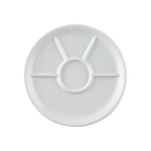 Fondue-/Grilllteller 27 cm Trend Weiß Thomas