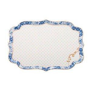 Tablett 26cm Royal white PiP Studio