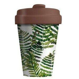 Travel Mug 400ml Green Leaves chic mic