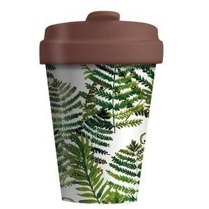Travel Mug 400ml Green Leaves chic mic