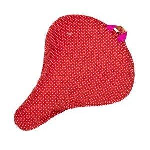 Sattelbezug Polka Dots rot Liix