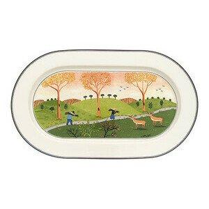 Platte 34 cm oval Design Naif Villeroy & Boch