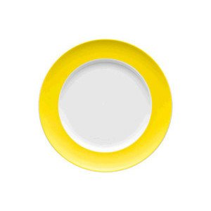 """Frühstücksteller 22 cm """"Sunny Day Neon Yellow"""" Neon Yellow Thomas"""