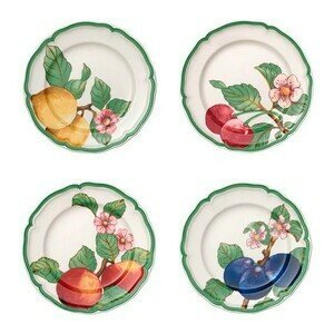 Speiseteller Set 4tlg. French Garden Modern Fruits Villeroy & Boch