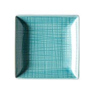 "Schale 10 cm x 10 cm quadratisch ""Mesh Aqua"" Rosenthal"