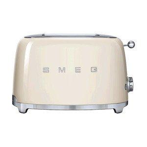 2-Schlitz-Toaster creme smeg