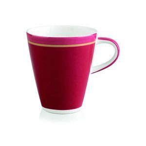 "Becher 200 ml mit Henkel ""Caffe Club Uni Berry"" Villeroy & Boch"
