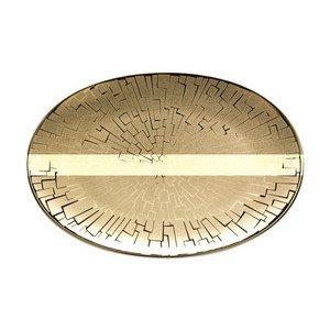 """Platte 18 cm """"TAC Skin Gold"""" oval Rosenthal"""