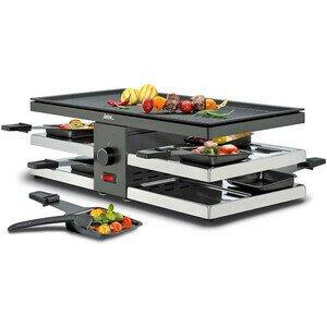 Raclette 8 Fun schwarz Spring