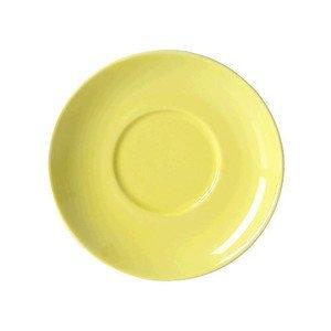 """Cappuccino-Untertasse """"Solid Color Zitrone"""" rund Dibbern"""