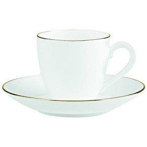 Espresso und Mokkatasse mit Untertasse 100 ml Anmut Platinum No. 1 Villeroy & Boch