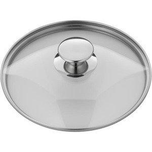 Glasdeckel 24 cm mit Metallgriff zu Saphir WMF