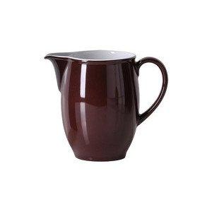 Krug 1 ltr. Solid Color kaffeebraun Dibbern