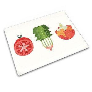 Schneidplatte Salat Glas 30 x 30 cm Joseph Joseph