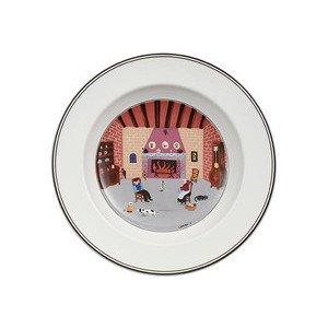 Suppenteller 21 cm Kamin Design Naif Villeroy & Boch