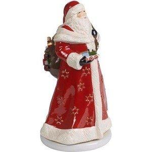 Santa drehend 34cm Christmas Toys Memory Villeroy & Boch