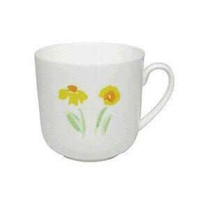 Becher m.H. 0,32 ltr. Impression Blume gelb Dibbern