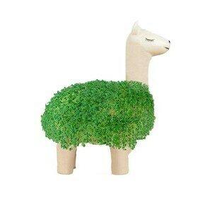 Green Lama Keramik weiß Gift Republic