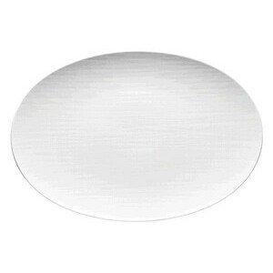 Platte 38 cm Mesh weiss oval Rosenthal