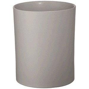 Vase H. 19 cm D. 15,5 cm Noma hellgrau matt ASA