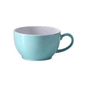 "Cappuccino-Obertasse 300 ml ""Solid Color Türkis"" rund Dibbern"