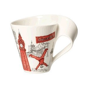 Becher m. Henkel 0,3 l Düsseld Cities of the World Mug Villeroy & Boch