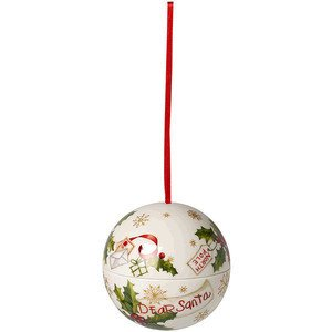 Kugel 10cm Briefe an Santa Christmas Balls Villeroy & Boch