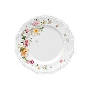 Frühstücksteller 21 cm Blumen Maria Pink Rose Rosenthal