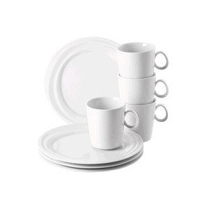 "Frühstücks-Set 8-tlg. ""Nendoo Weiss"" Rosenthal"