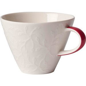 Café au lait Obertasse 0,39ltr Caffè Club Floral Touch of Rose Villeroy & Boch