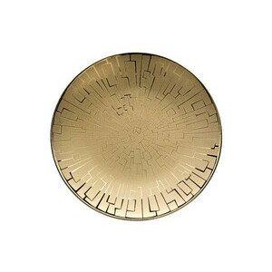 Brotteller 16 cm TAC Skin Gold Rosenthal