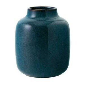 Vase Nek bleu uni klein Lave Home Villeroy & Boch