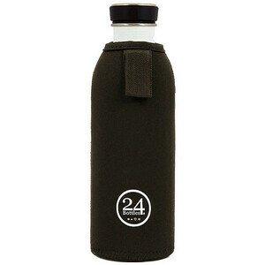 Flaschenhülle für 1,0 l 24Bottles schwarz 24bottles