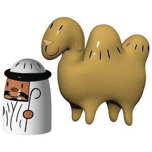 Figuren 2 Stück Amir & Camelus Alessi