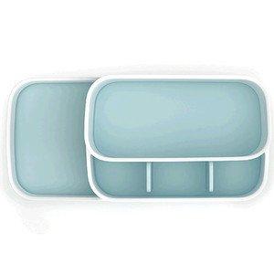 Badezimmer Caddy Easy Store weiss/blau Joseph Joseph