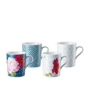 Becher m.H. Set 4-tlg. Tric Vivid Bloom Mixed Arzberg